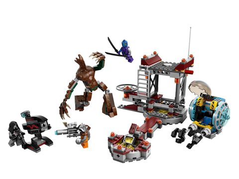 LEGO Super Heroes: Миссия Побег в Забвение 76020 — Knowhere Escape Mission — Лего Супергерои Марвел