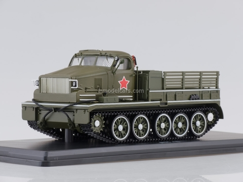 AT-T Heavy artillery tractor parade hakii 1:43 Start Scale Models (SSM)