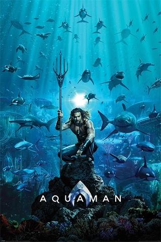 Постер Aquaman (Teaser) 213-PP34414