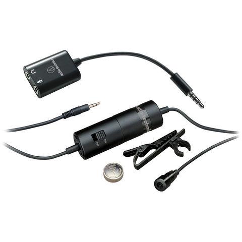 Audio-Technica ATR3350iS конденсаторний петличний мікрофон