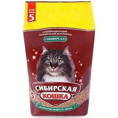 Наполнитель для кошачьего туалета, Сибирская Кошка Универсал