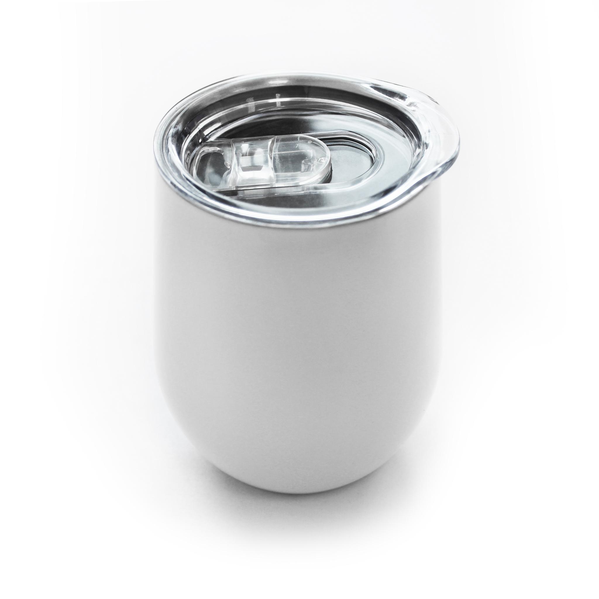 Крышка для кофера (Cofer) 12 oz с клапаном, прозрачная