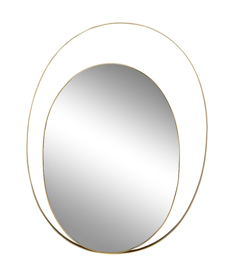 19-OA-6267 Зеркало с металл. объемной рамой 75*100см