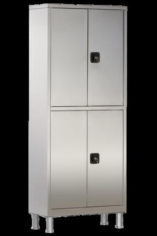 Шкаф медицинский двухстворчатый с ригельным замком МСК - 5647.01-11 - фото