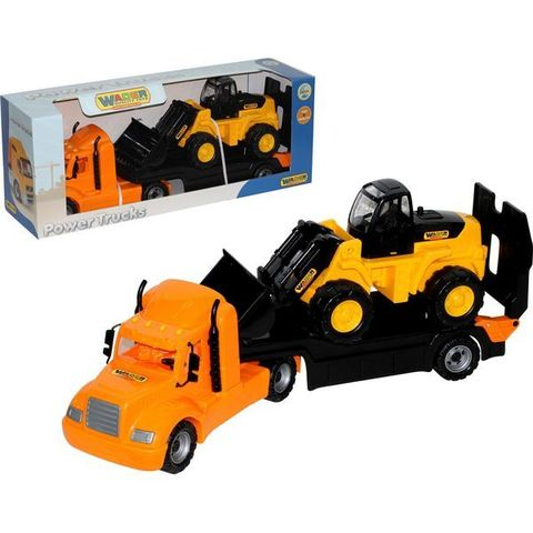 """""""Майк"""", автомобиль-трейлер + трактор-погрузчик (в коробке)"""