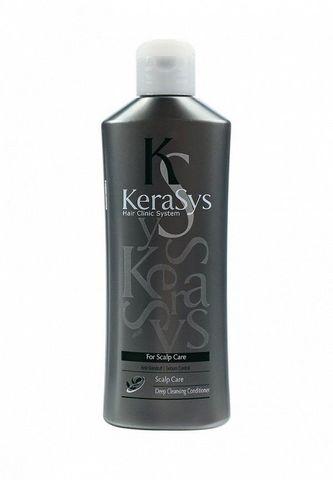Кондиционер Kerasys для ухода за жирной кожей головы 180 мл