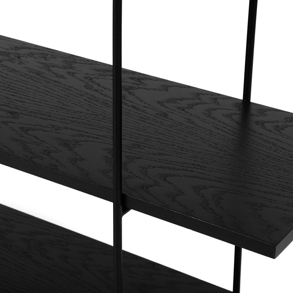 Стеллаж Florian black (3 полки) - вид 5