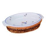 Блюдо для запекания овальное 35х21 см, артикул 792-017, производитель - Lefard
