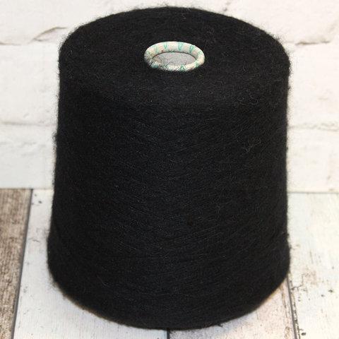 Вспушенная альпака Lanifcio del'Olivo WENGE 1500 черный
