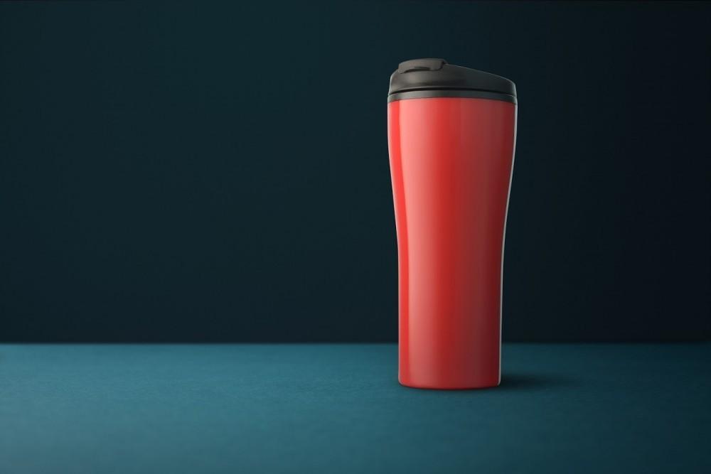 Maybole Travel Mug, red