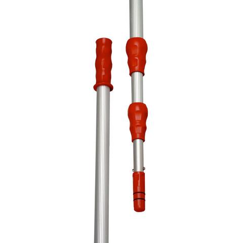 Рукоятка для мытья окон телескопическая Vileda Professional Эволюшн 125-250 см алюминий/пластик с конусом (арт. производителя 500115)