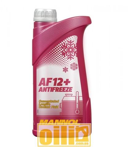 MANNOL 4112 Antifreeze AF12+ Longlife 1л