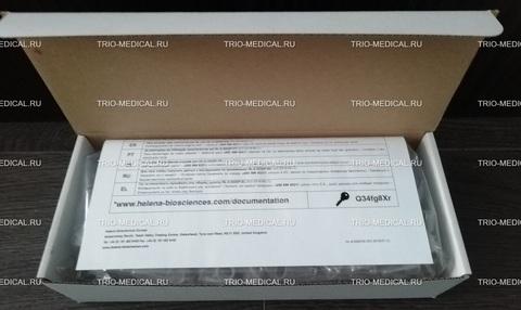 С-101 Кювета одиночная к анализатору Helena C для проведения клоттинговых тестов. 500 штук/упак /Helena Biosciences, Великобритания/