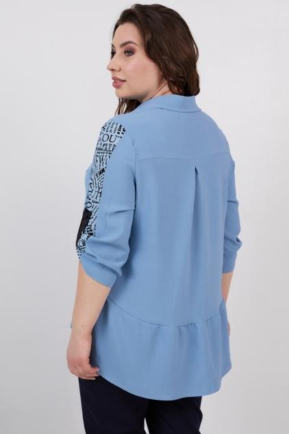 Рубашка Кьяра (джинс)
