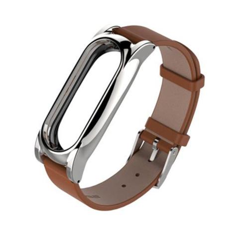 Ремешок Xiaomi Mi Band 2 - кожаный