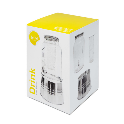 Лимонадник с инфузером Drink 5.6л