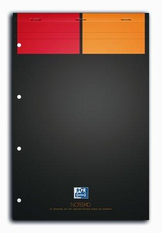 Бизнес-тетрадь International NotePad A4+ (21*31.5см) клетка 80л твердая обложка