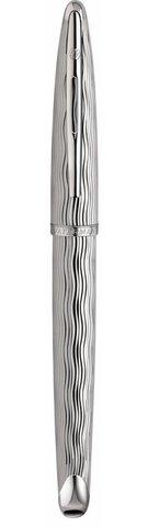 *Ручка-роллер Waterman Carene Essential, цвет: Silver ST, стержень: Fblack123