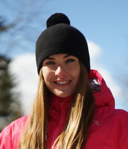 Лыжная шапка Nordski Knit черная