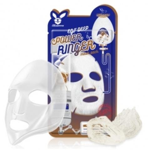 Elizavecca Тканевая маска для лица ЭПИДЕРМАЛЬНЫЙ ФАКТОР Elizavecca EGF Deep Power Ringer Mask Pack,23 мл.