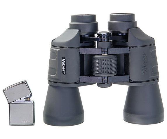 Бинокль Veber Classic БПШЦ 10x50 VRWA - фото 2