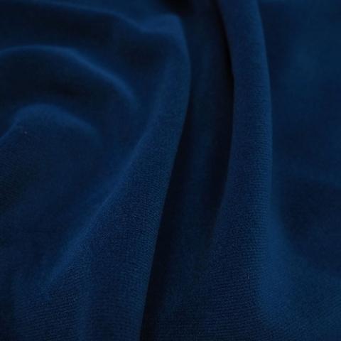 Бархат негорючий синий, ширина - 150 см., 450 гр./м2. арт. BR/208VN/45