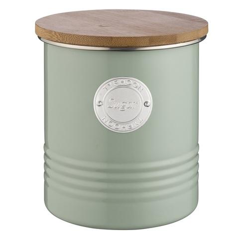 Емкость для хранения сахара Living оливковая 1 л