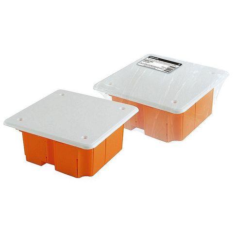 Коробка распаячная СП 92х92х40мм крышка TDM