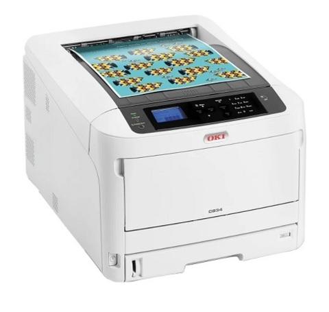 Цветной принтер OKI C834dnw (47228005)