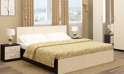Кровать ЗК-1,6 Зиля ЛДСП
