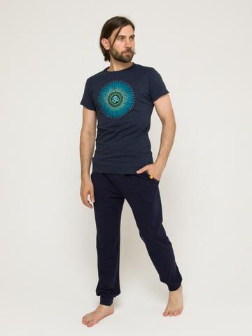 Футболка мужская Cosmos Blue YogaDress