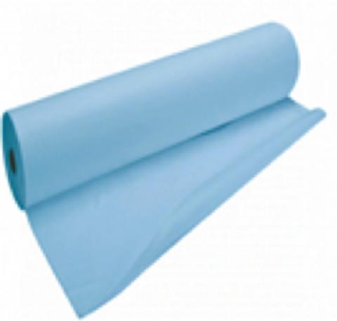 Простыня в рулоне Комфорт СМС 80*200 голубые.