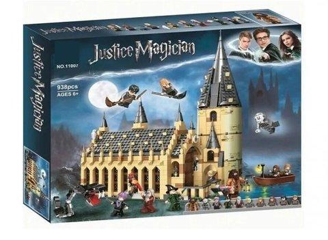 Конструктор Justice Magician 11007 Большой зал Хогвартса