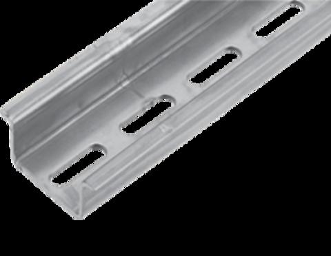 TS 35x15 дин-рейка с перфорацией 6,2*18