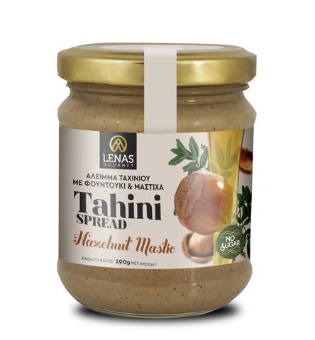 Тахини из лесных орехов и мастики LENAS gourmet 190 гр