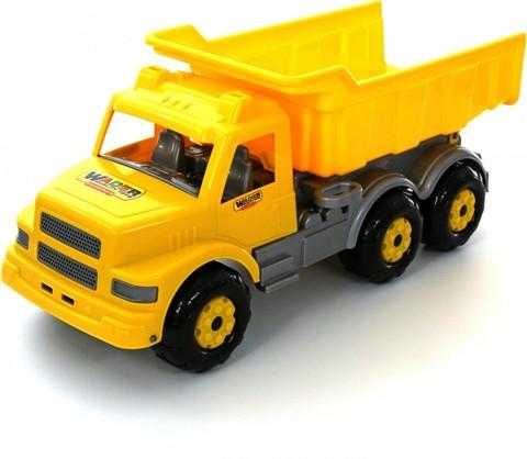 Буран №2, автомобиль-самосвал жёлтый