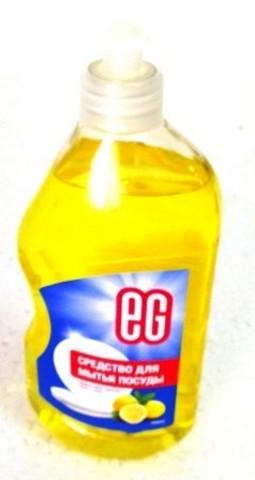 ЕВРОГАРАНТ Средство для мытья посуды ЛИМОН 500 мл 1/20