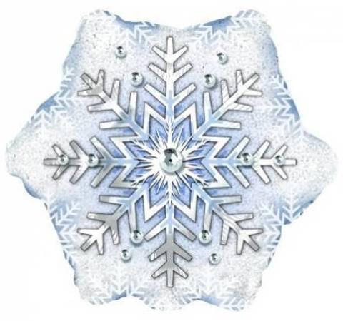 Шар Снежинка