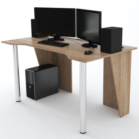 Стол Компьютерный LevelUP 1400 Дуб Сонома