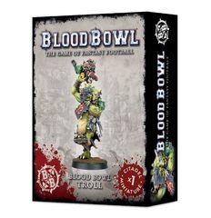 Blood Bowl Troll. Коробка