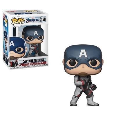 Фигурка Funko POP! Bobble: Marvel: Avengers Endgame: Captain America 36661