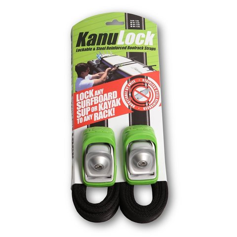 Kanulock Lockable Tie Downs 2,5 m/8 ft