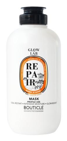 Восстанавливающая маска придающая сияние - Bouticle Glow Lab Argan Repair Illuminating Mask 250 мл