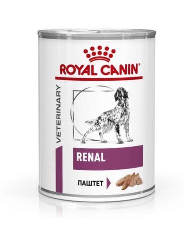 Консервы Royal Canin Renal сanine canned для собак при почечной недостаточности 410г 1 шт