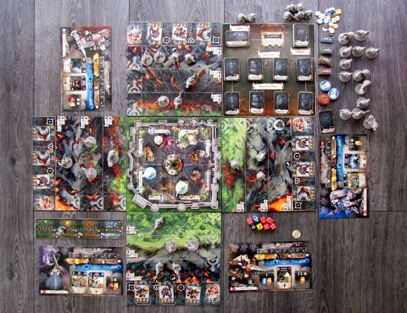 Настольная игра Зомбицид. Чёрная чума