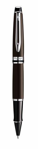 *Ручка-роллер Waterman Expert 3, цвет: Deep Brown CT, стержень: Fblk123