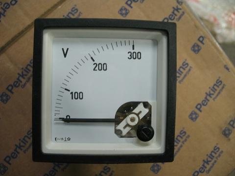 Вольтметр 0-300V (1ф) / METER VOLT 0-300V D72 EURODIN АРТ: 620-817