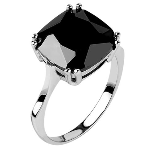 Кольцо из серебра с нано шпинелью Арт.1181н-шп