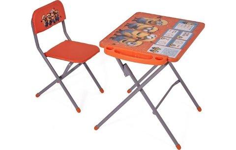 Комплект детской мебели Polini kids 303 Гадкий я, оранжевый
