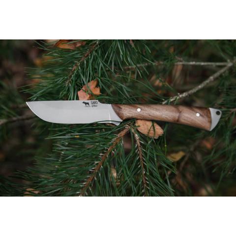 Нож Белка рукоять дерево, Саро